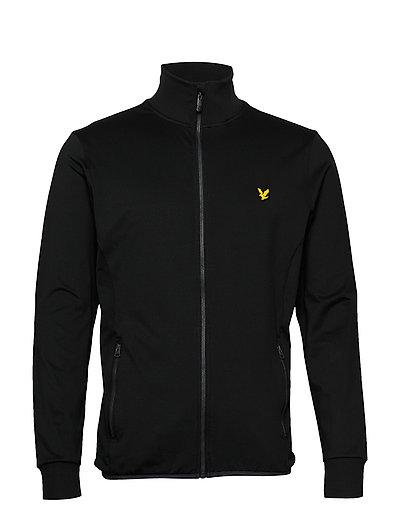 Tech Full Zip Midlayer Sweat-shirt Pullover Schwarz LYLE & SCOTT SPORT