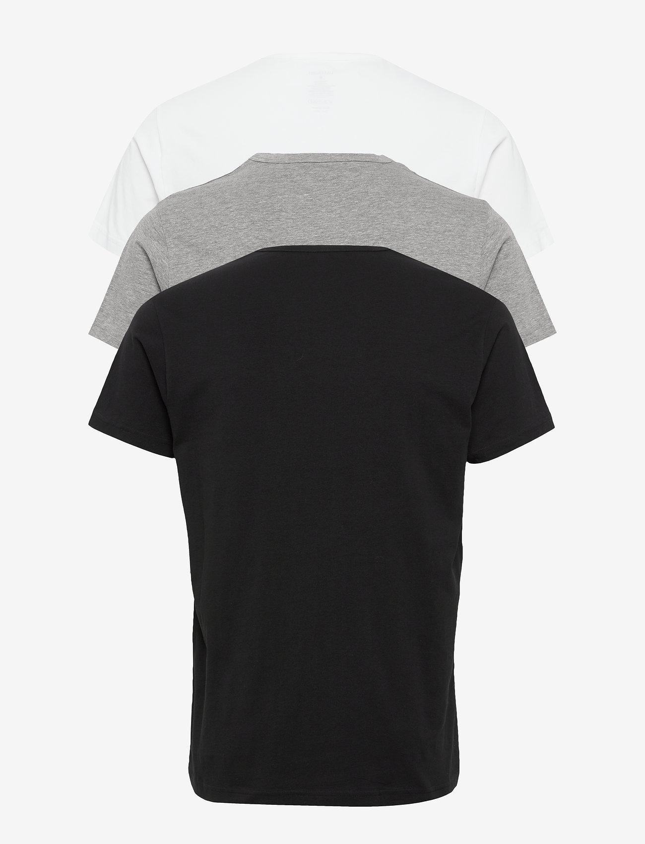 Lyle & Scott - MAXWELL - t-shirts basiques - bright white/grey marl/black - 1