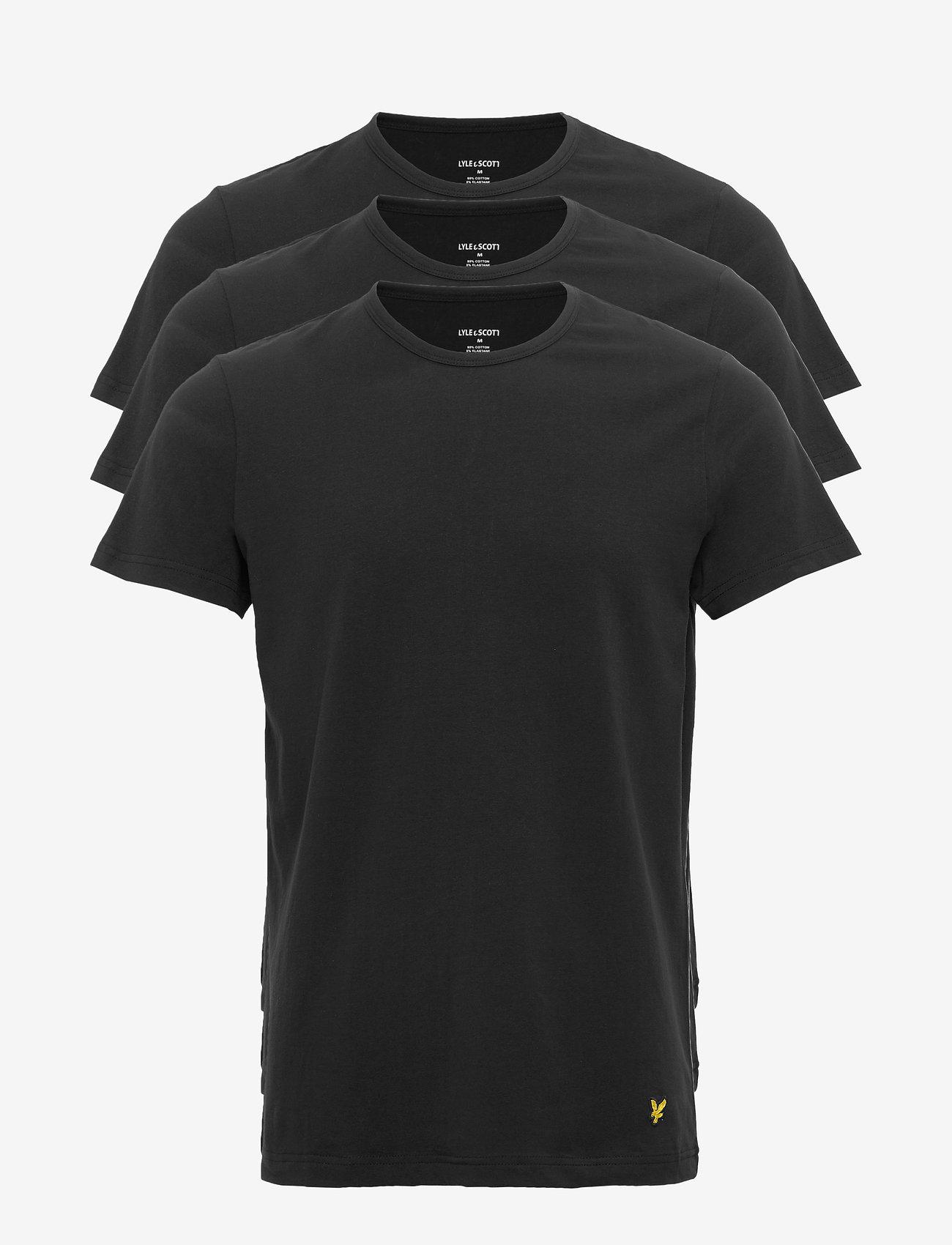 Lyle & Scott - MAXWELL - t-shirts basiques - black - 0