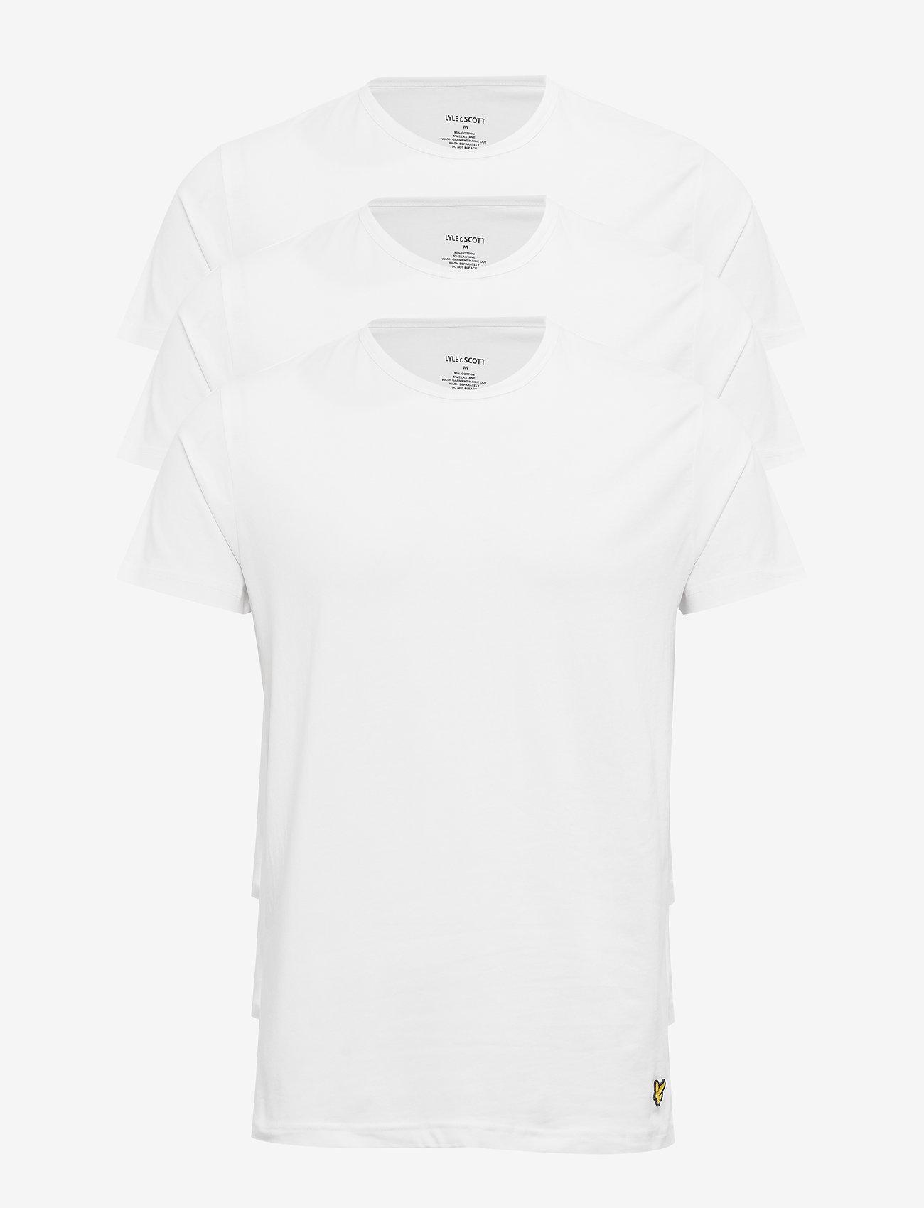 Lyle & Scott - MAXWELL - t-shirts basiques - br white - 0
