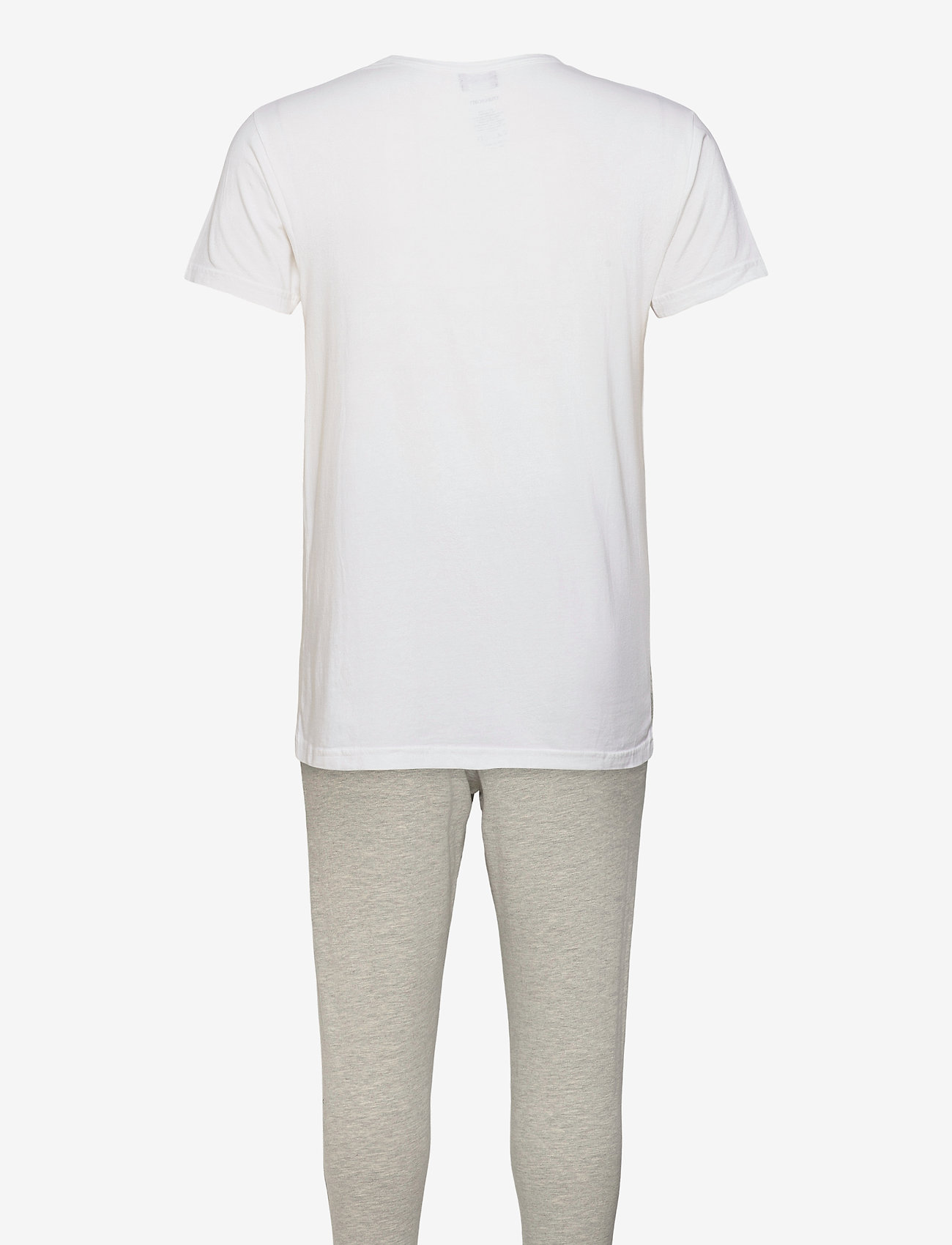 Lyle & Scott - BENJAMIN - pyjama's - bright white/light grey marl - 1