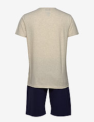 Lyle & Scott - CHARLIE - pyjamas - grey marl/peacoat - 1