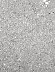 Lyle & Scott - PARKER - t-shirts basiques - black/grey marl/bright white - 3