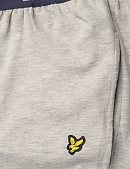Lyle & Scott - BENJAMIN - pyjama's - bright white/light grey marl - 6