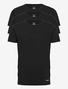 ELIJAH - kortärmade t-shirts - black