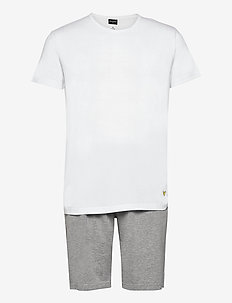 CHARLIE - piżamy - grey marl