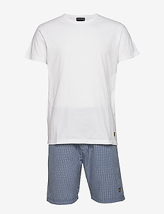 GLEN - undertøy - bright white/peacoat