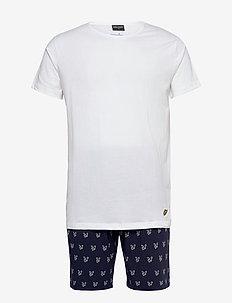 LAWSON - pyjamas - bright white/peacoat