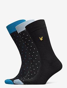BLAKE - regular socks - black