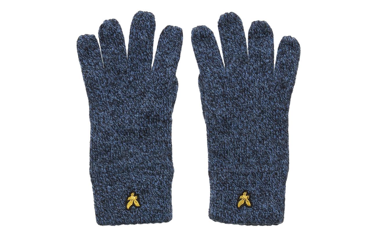 Lyle & Scott Mouline Gloves - DARK NAVY/LAPIS BLUE