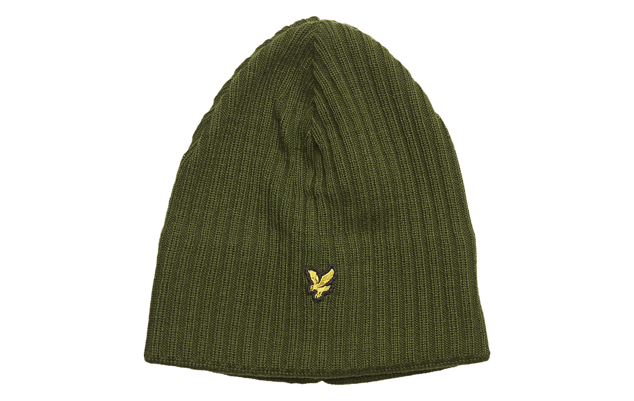 Lyle & Scott Knitted Ribbed Beanie Mössor & kepsar