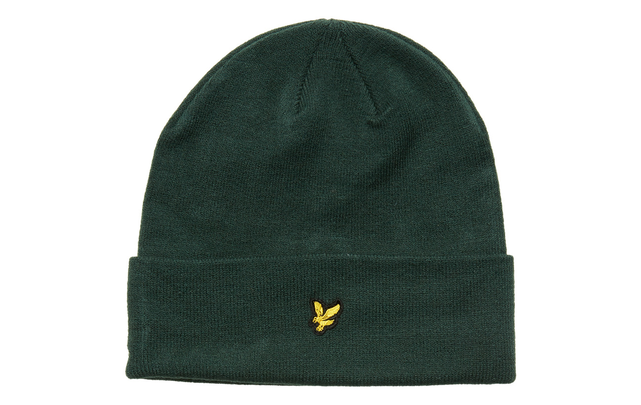 Lyle & Scott Beanie - JADE GREEN