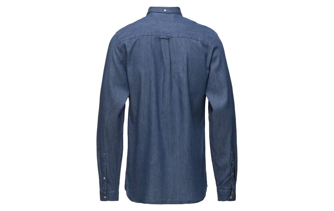 amp; Scott Lyle Dark Denim Shirt Indigo zBZ4qaZwn