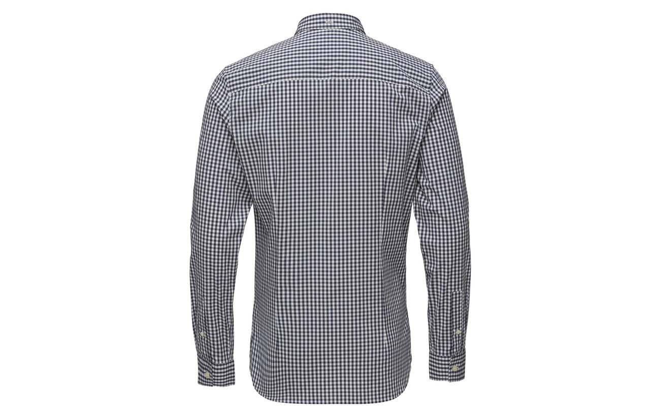 Fit Gingham Black Scott True Slim Ls Lyle amp; Shirt qgIw6WRA