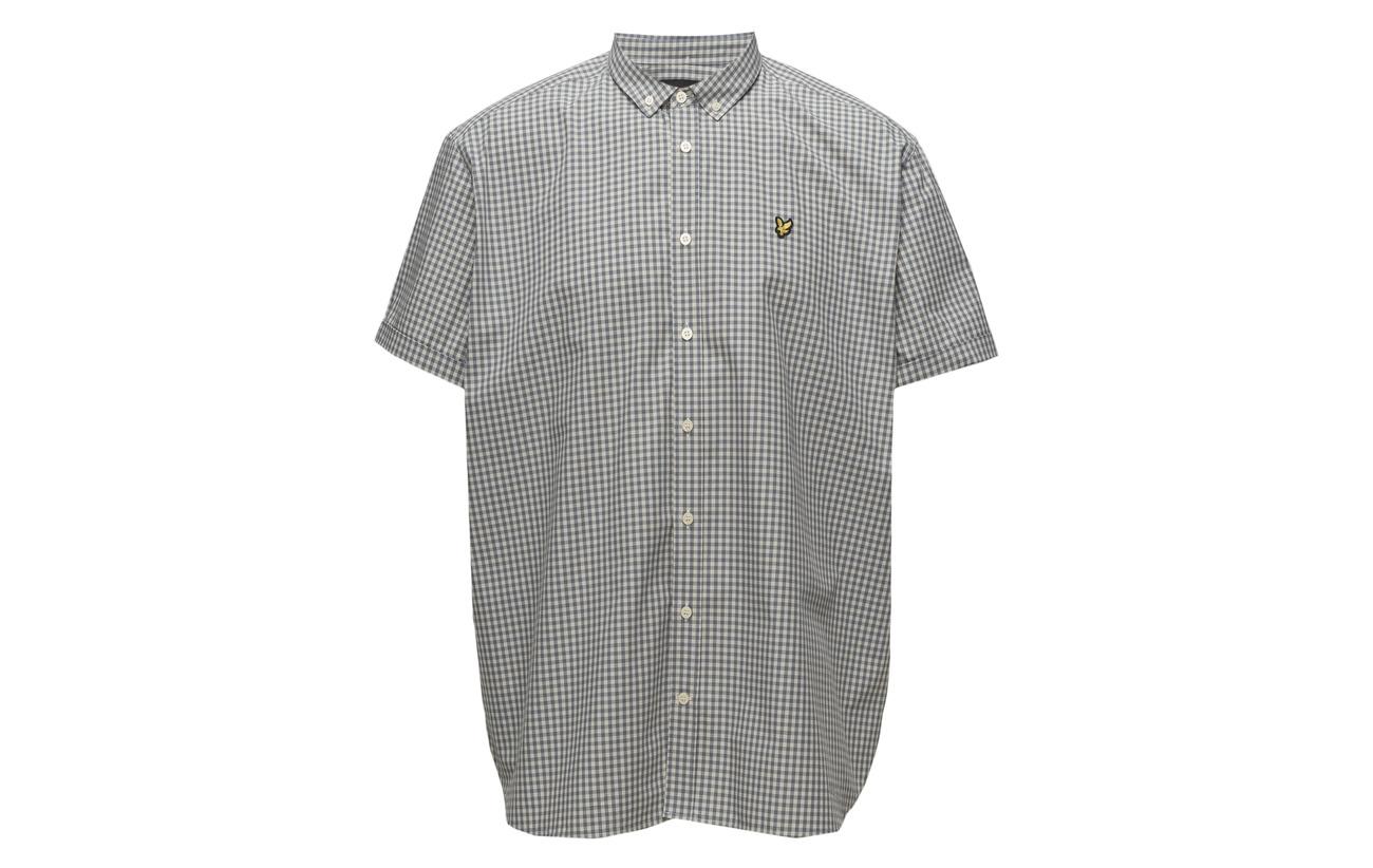 amp; Claret Lyle Scott Jug Gingham Ss Shirt HxwFdSqO