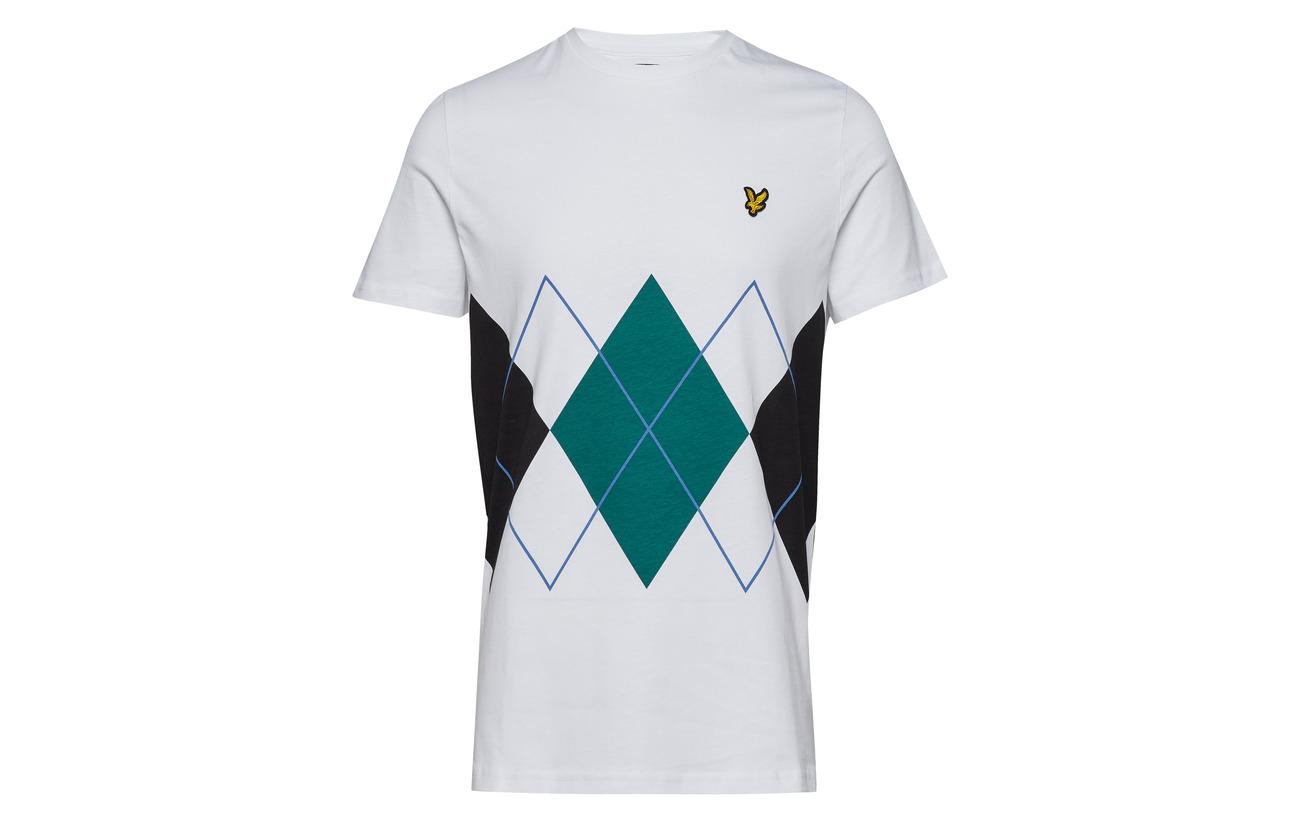 Lyle shirt amp; T Argyle Scott Navy 1qAw81r