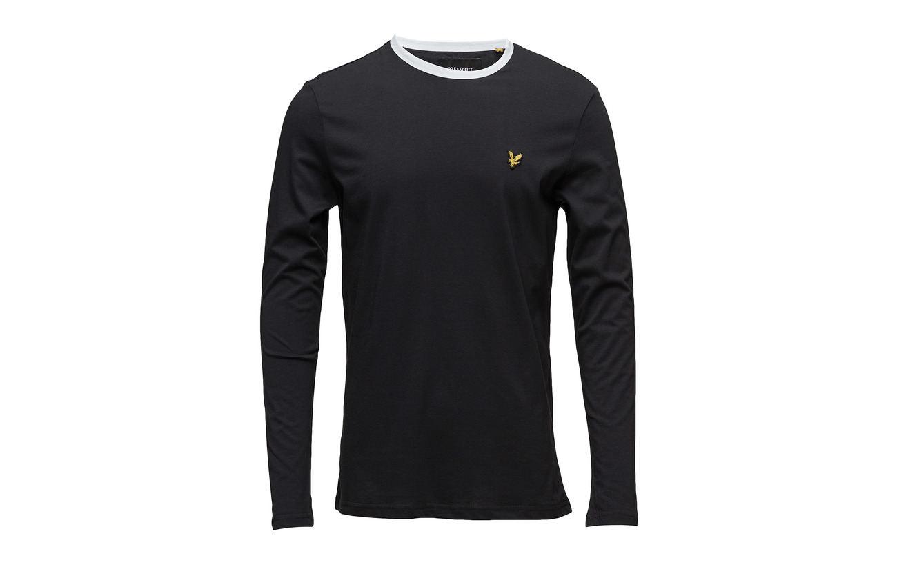 Black shirt T Ringer Lyle amp; True Ls Scott 0x6RwwA