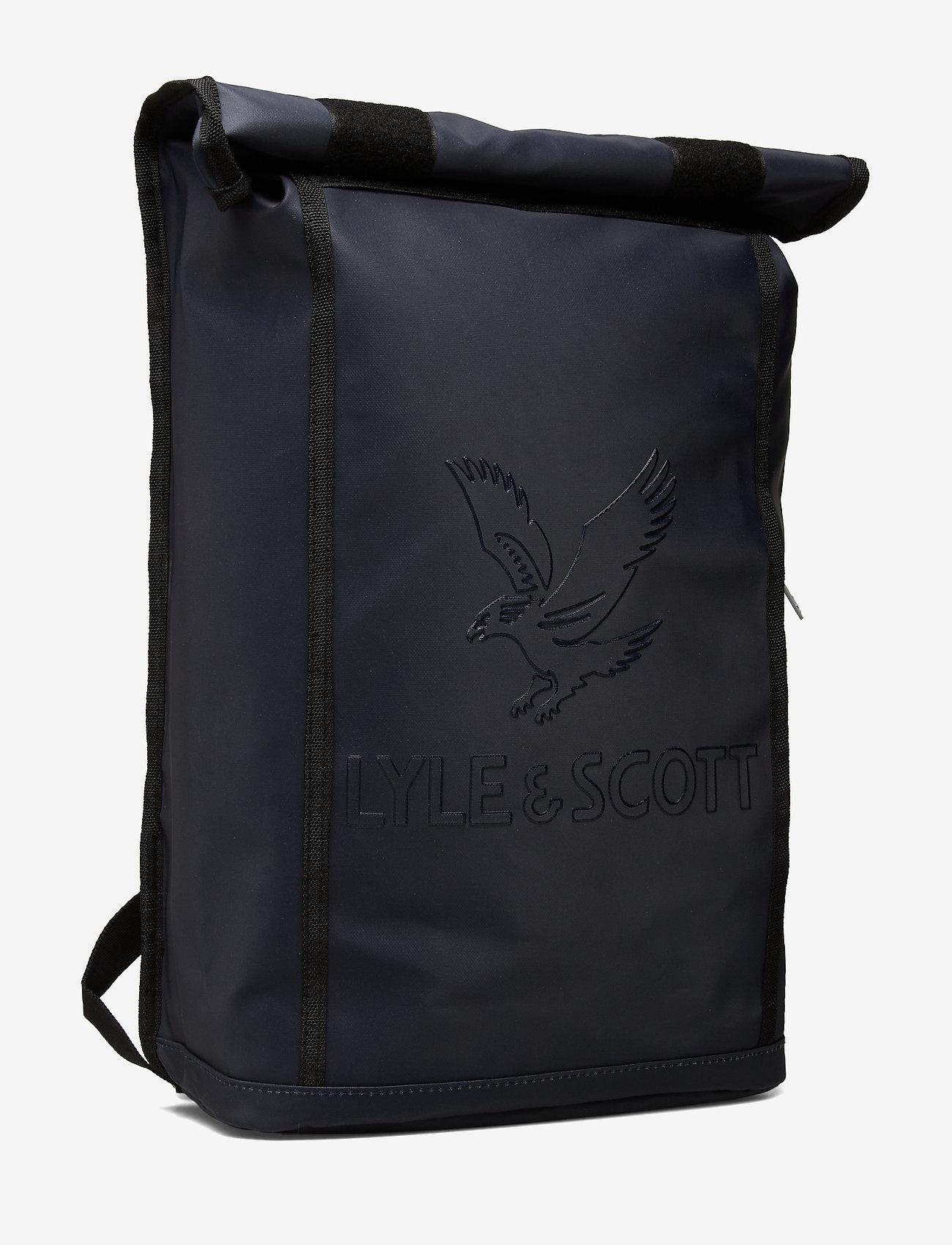 Lyle & Scott Roll Top Backpack - Plecaki DARK NAVY - Torby