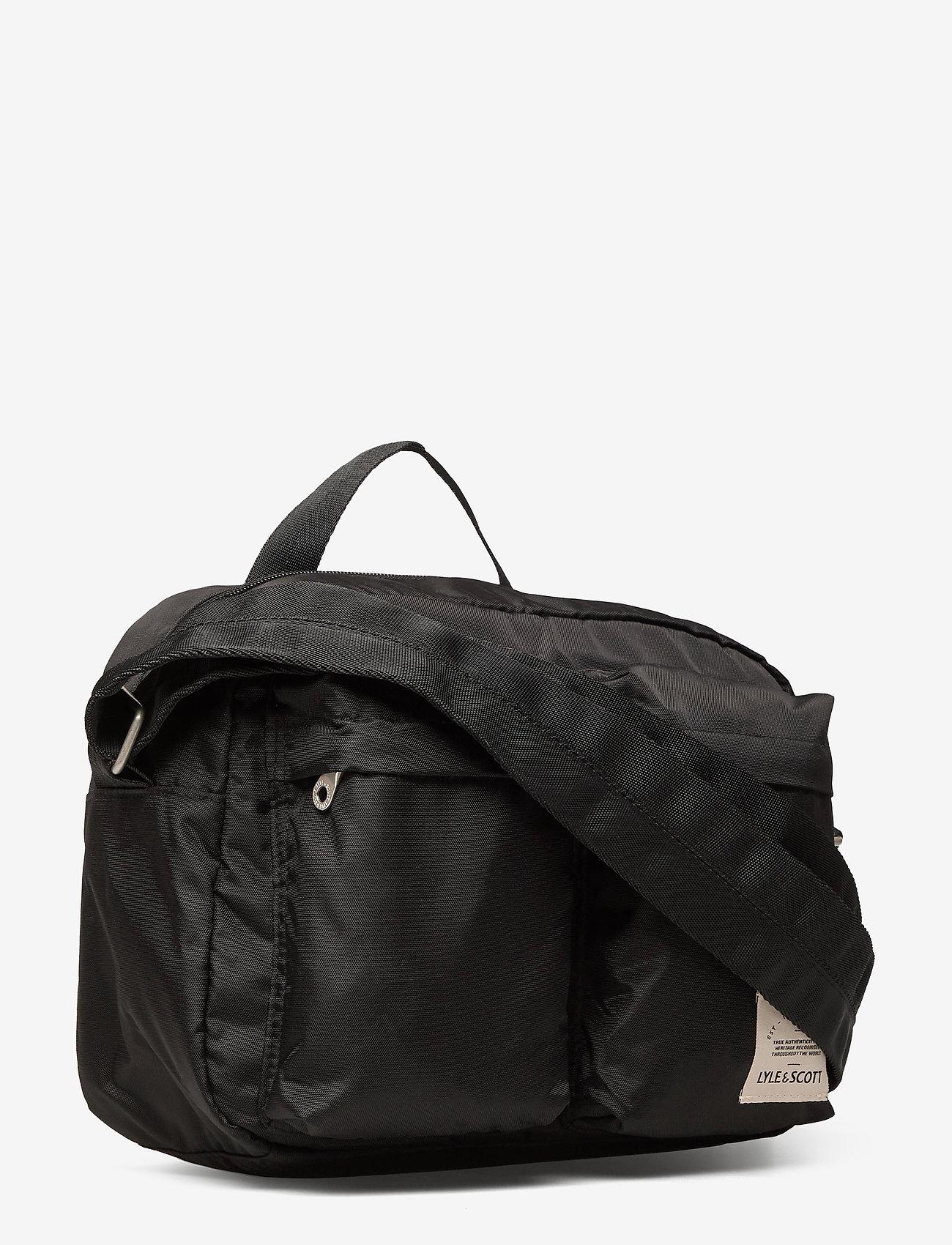 Lyle & Scott Nylon Camera Bag - Torby na ramię TRUE BLACK - Torby