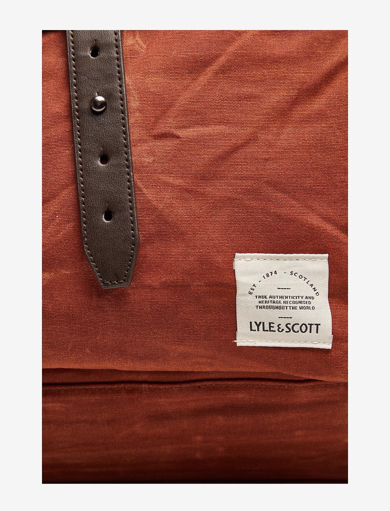 Lyle & Scott Weekender Bag - Torby weekendowe TOBACCO - Torby