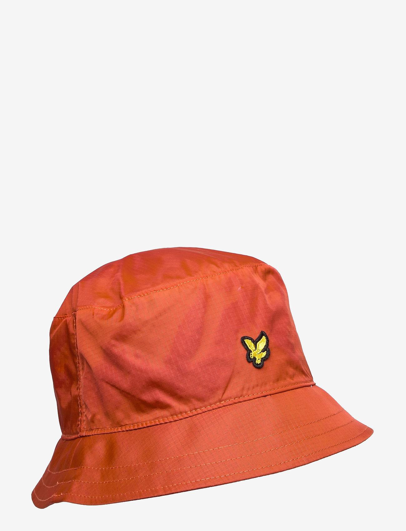 Lyle & Scott - Ripstop Bucket Hat - bucket hats - burnt orange - 0