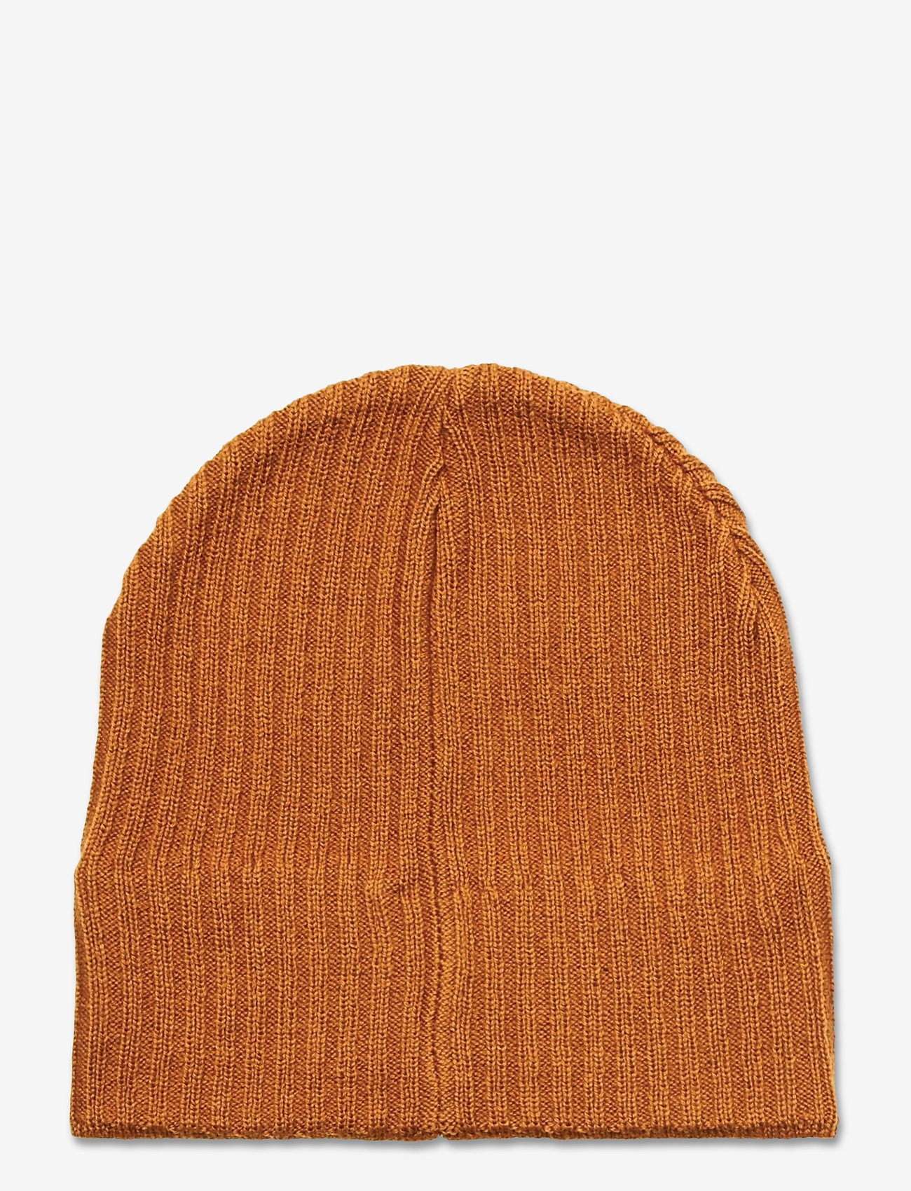 Lyle & Scott - Knitted Ribbed Beanie - bonnet - caramel - 1