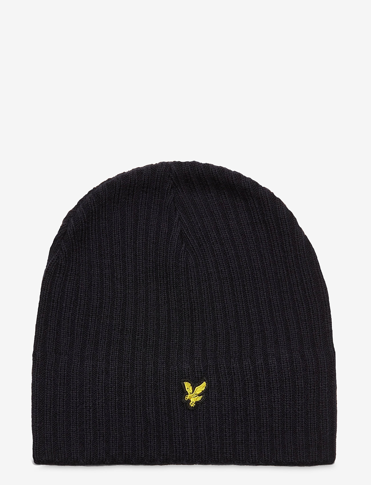 Lyle & Scott - Knitted Ribbed Beanie - bonnet - dark navy - 0