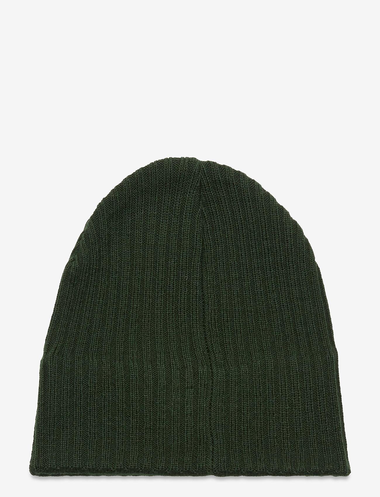Lyle & Scott - Knitted Ribbed Beanie - bonnet - jade green - 1