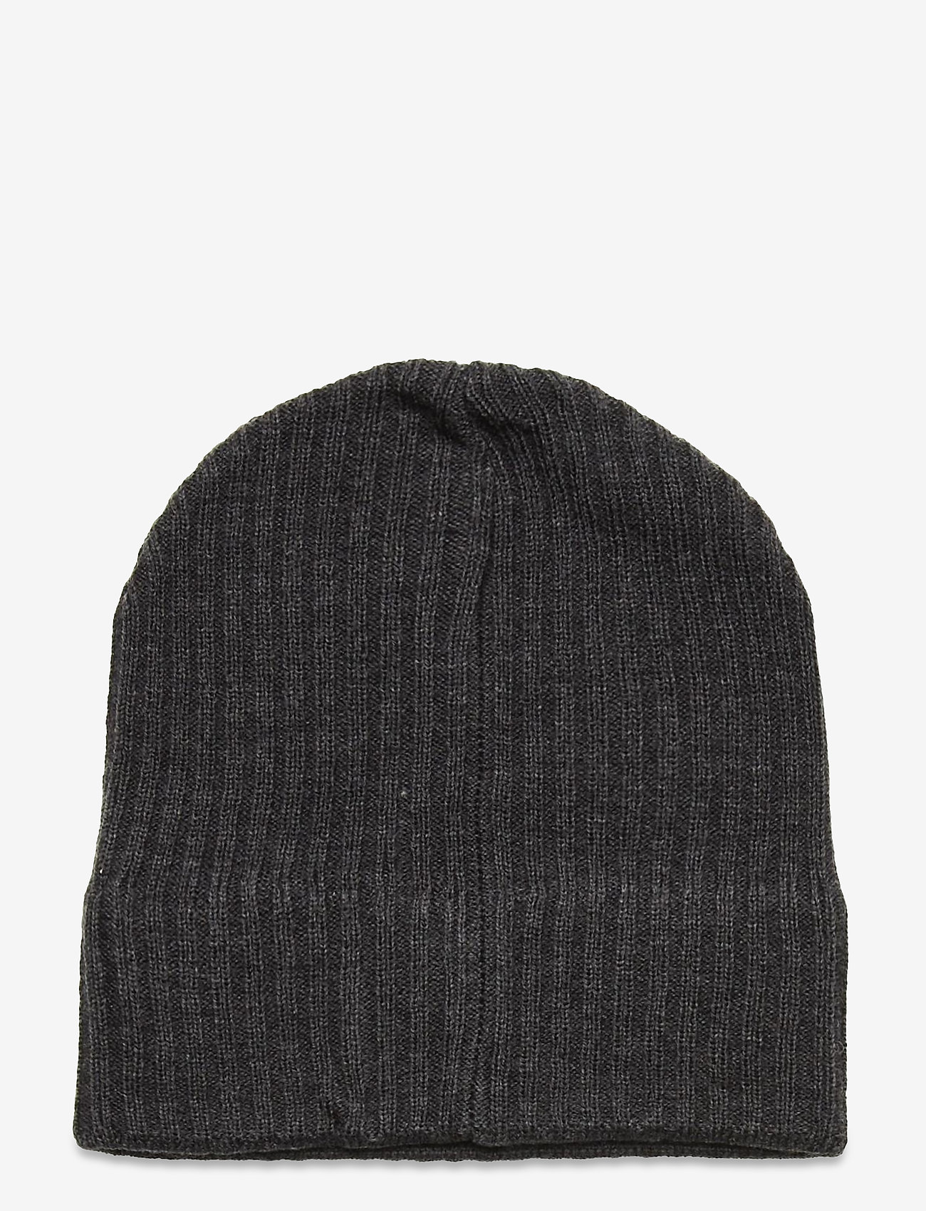 Lyle & Scott - Knitted Ribbed Beanie - bonnet - mid grey marl - 1