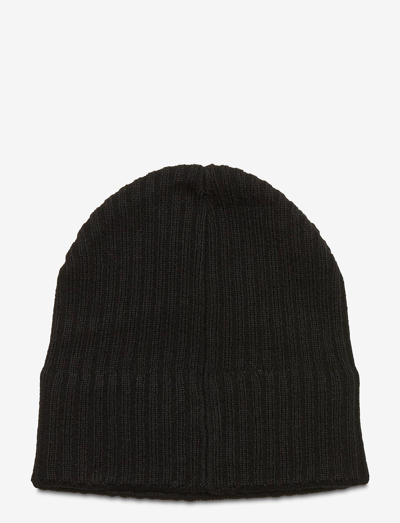 Lyle & Scott - Knitted Ribbed Beanie - bonnet - true black - 1