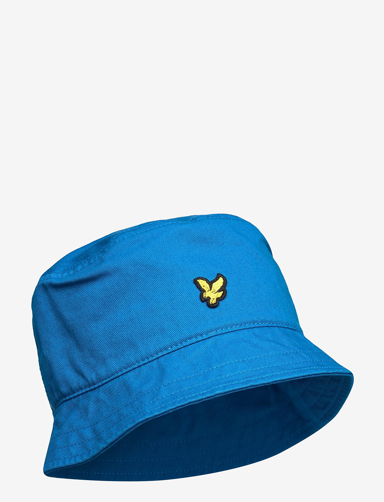 Lyle & Scott - Cotton Twill Bucket Hat - bucket hats - ocean blue - 0