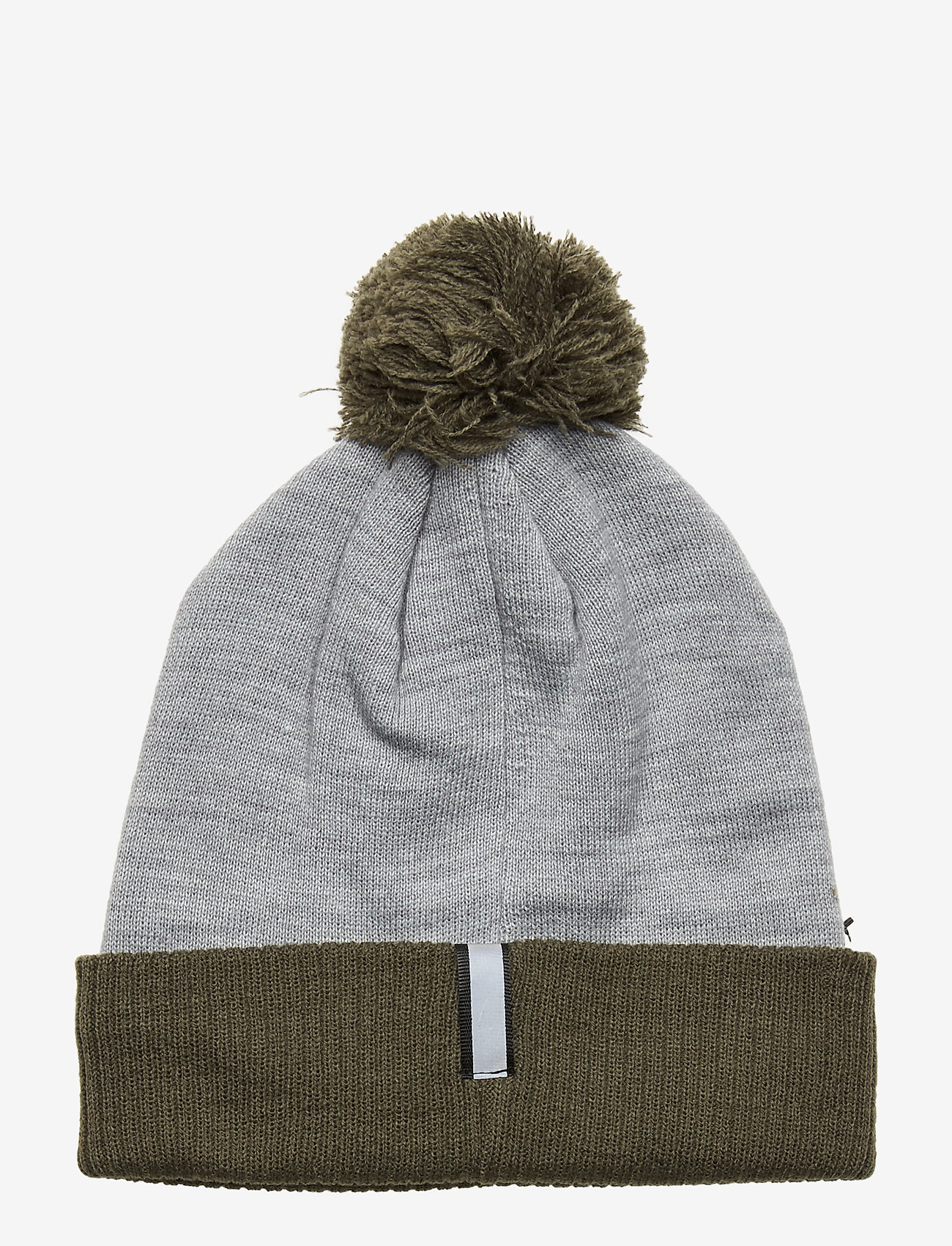 Lyle & Scott Walsh : Sports Bobble Beanie - Mössor & Kepsar Mid Grey Marl/deep Spruce