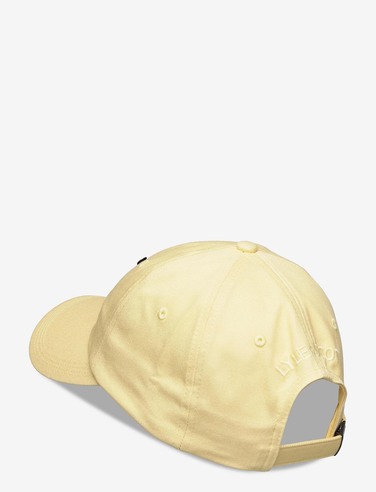 Lyle & Scott - Baseball Cap - czapki - lemon - 1
