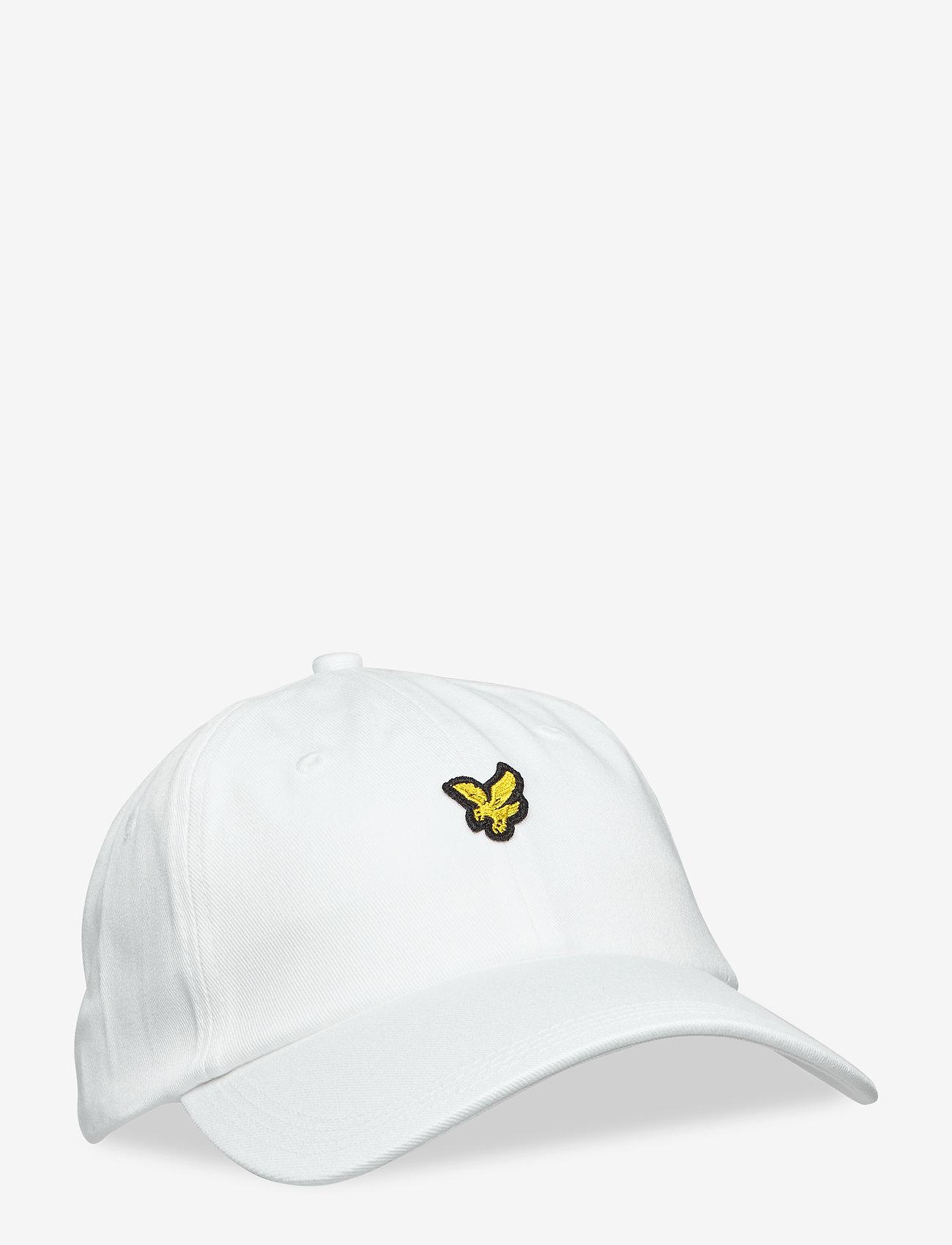 Lyle & Scott - Baseball Cap - czapki - white - 0