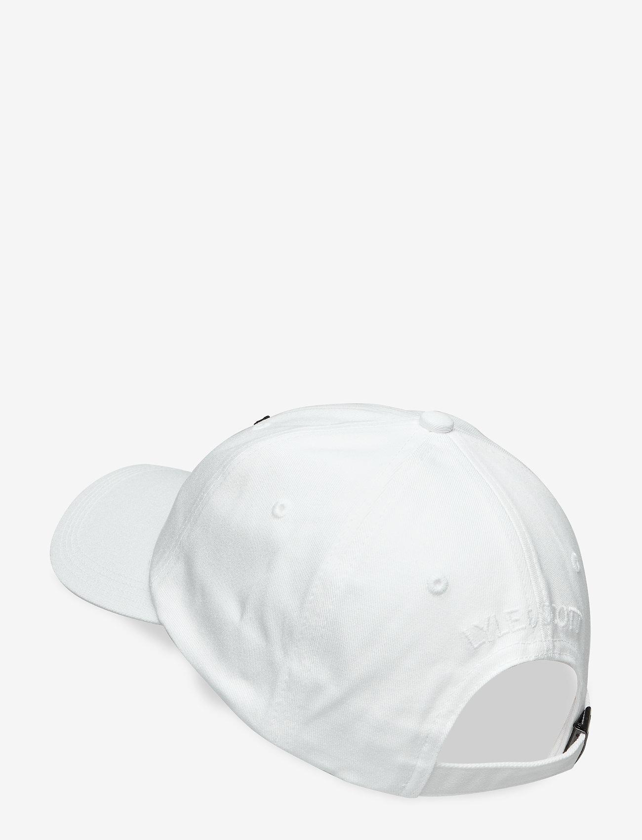 Lyle & Scott - Baseball Cap - czapki - white - 1