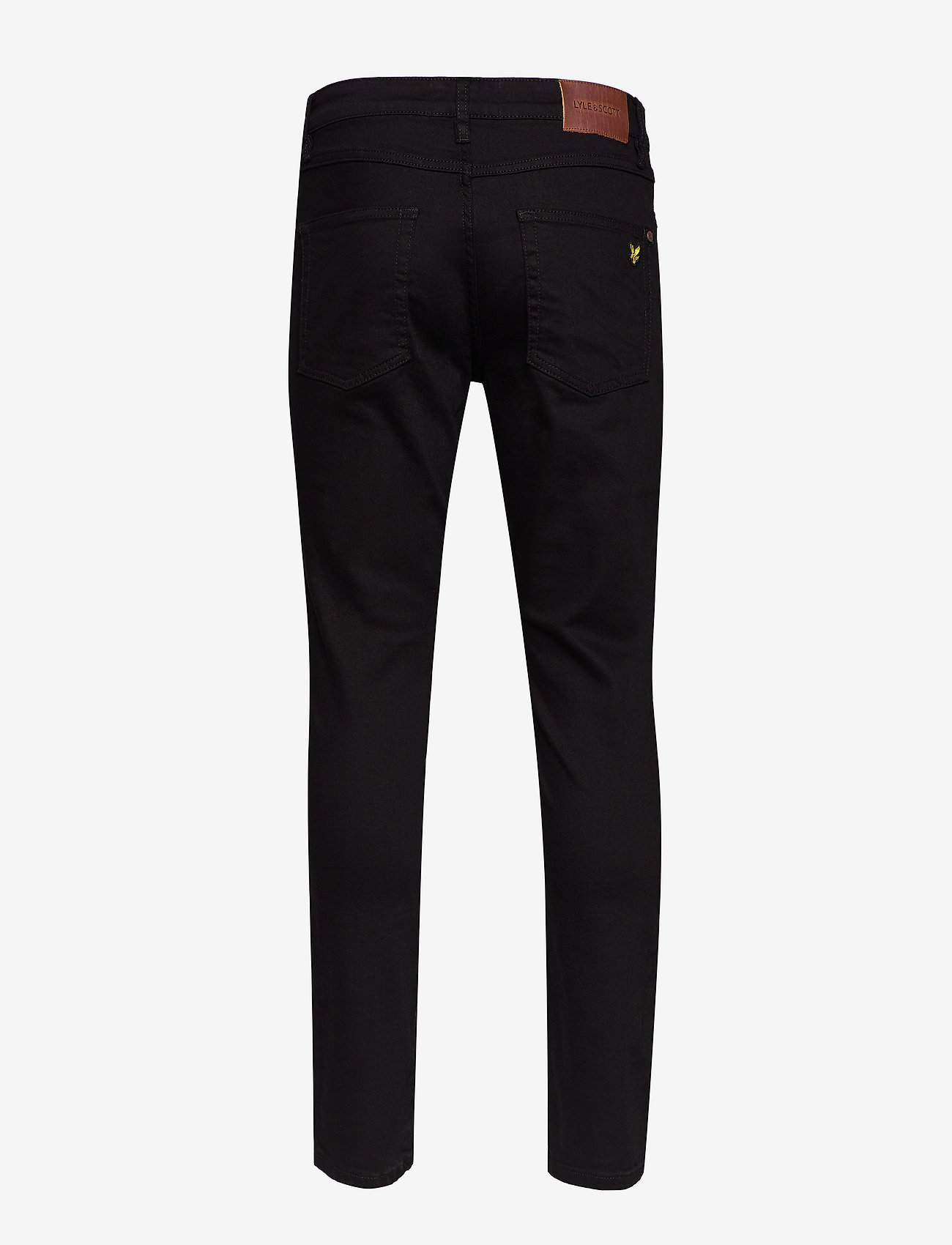 Lyle & Scott Slim Fit Jean - Jeans JET BLACK - Menn Klær