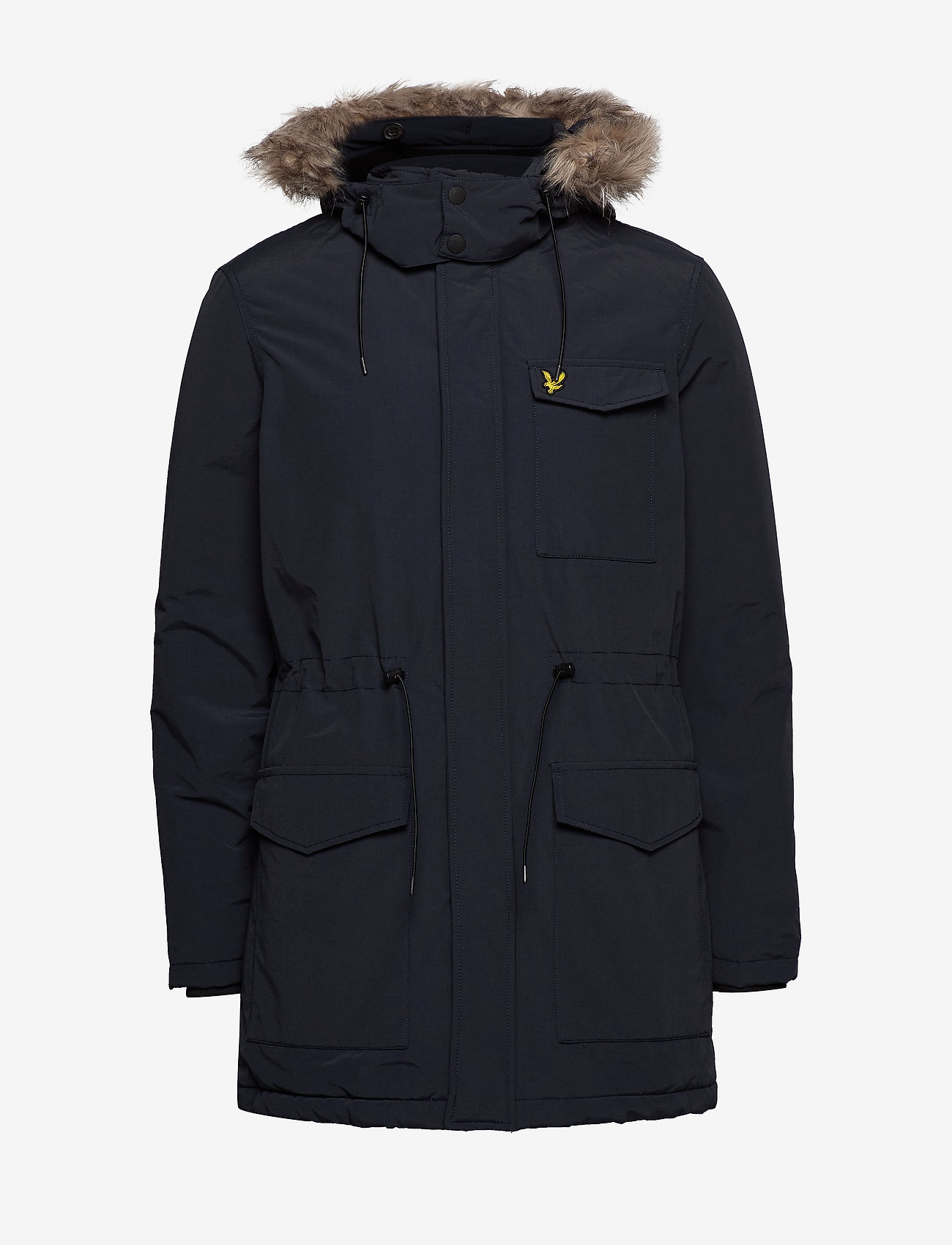 Lyle & Scott Winter Weight Microfleece Jacket - Jakker og frakker DARK NAVY - Menn Klær