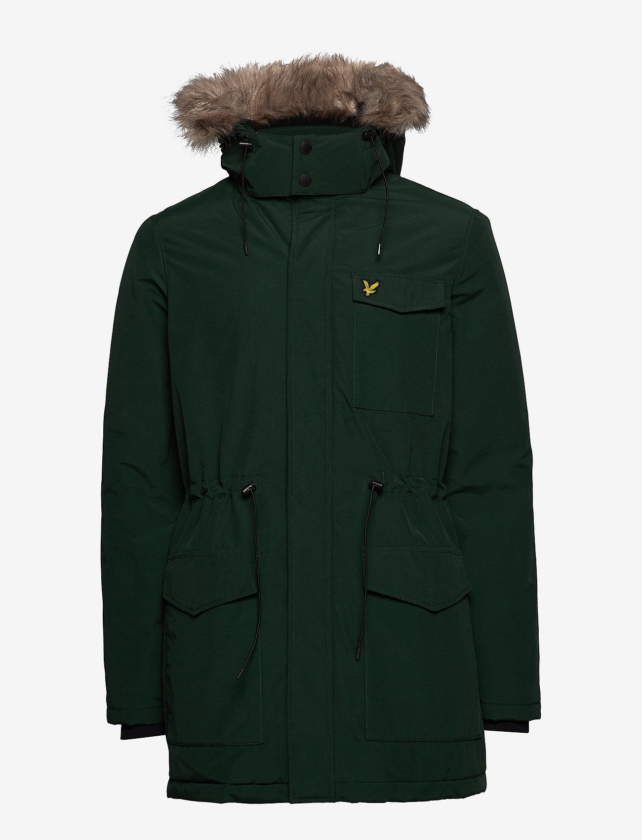 Lyle & Scott Winter Weight Microfleece Jacket - Jakker og frakker JADE GREEN - Menn Klær