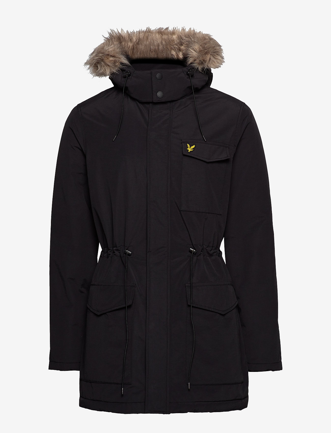 Lyle & Scott Winter Weight Microfleece Jacket - Jakker og frakker TRUE BLACK - Menn Klær