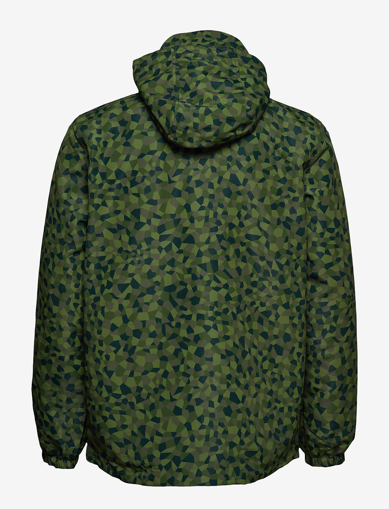 Lyle & Scott Geo Print Zip Through Hooded Jacket - Jakker og frakker GEO PRINT - Menn Klær