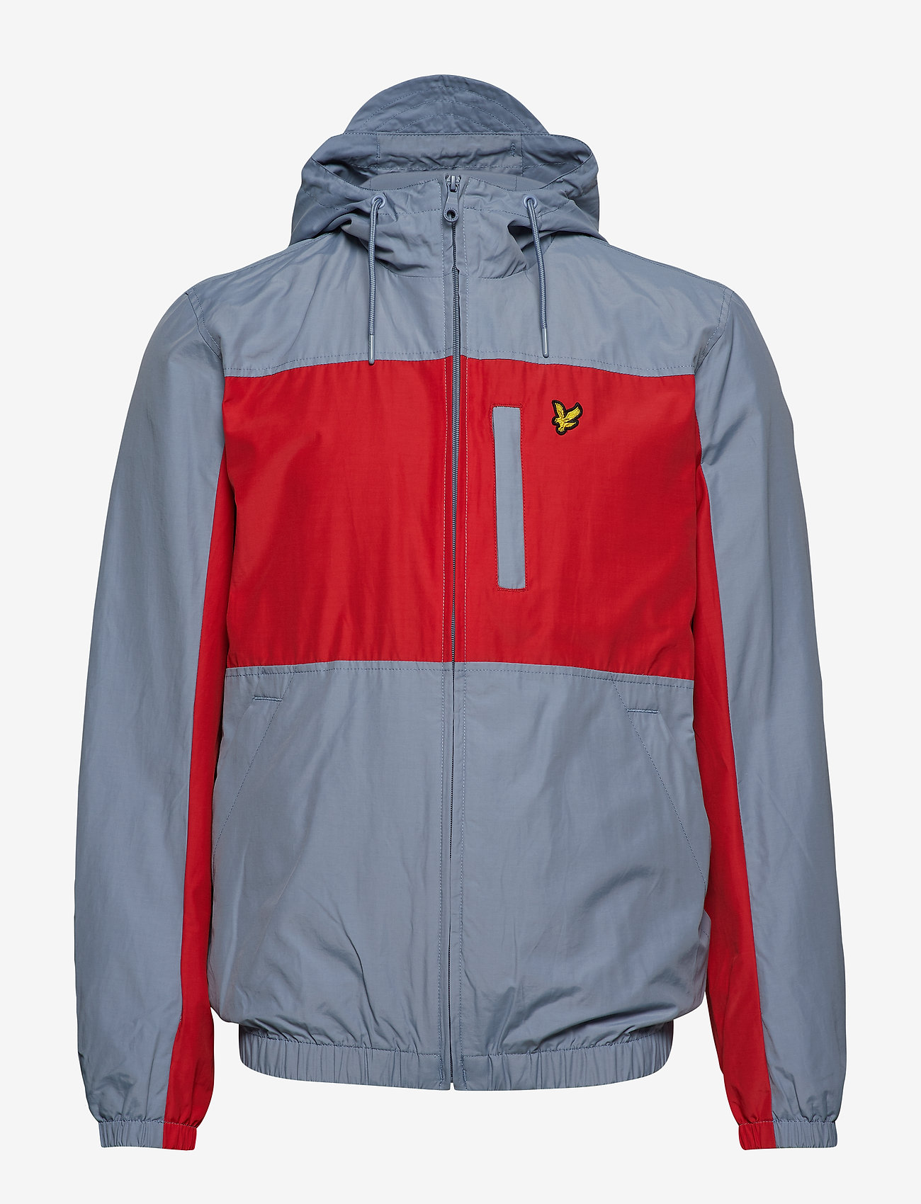 Colour Block Zip Through Jacket (Stone Blue) (48 €) - Lyle & Scott 1dbQd
