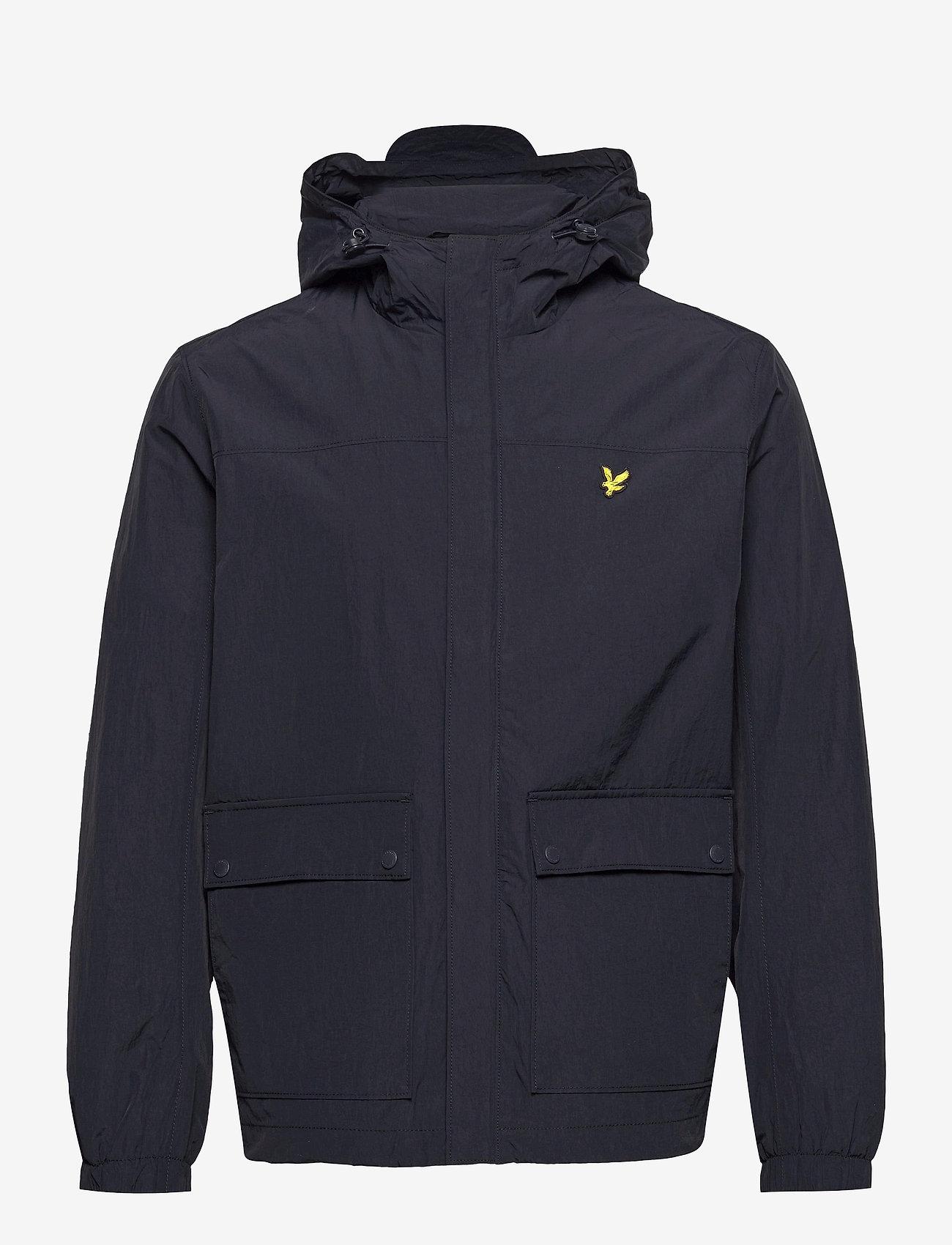 Lyle & Scott - Hooded Pocket Jacket - vestes légères - dark navy - 0