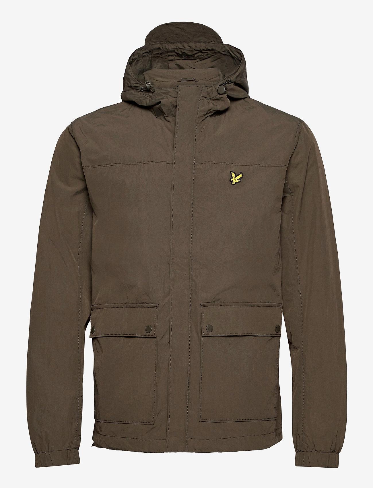 Lyle & Scott - Hooded Pocket Jacket - vestes légères - trek green - 0