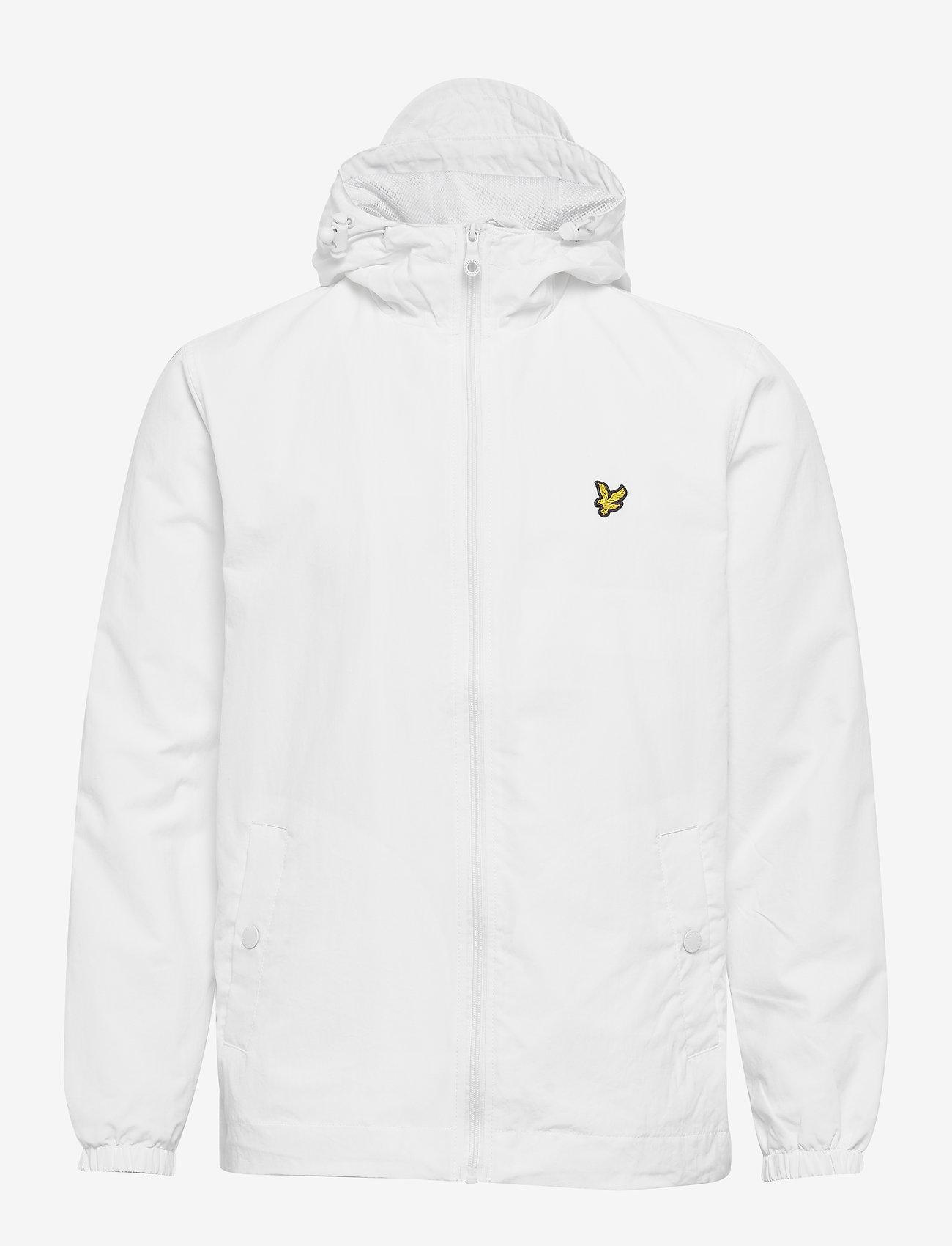 Lyle & Scott - Zip Through Hooded Jacket - vestes légères - white - 0