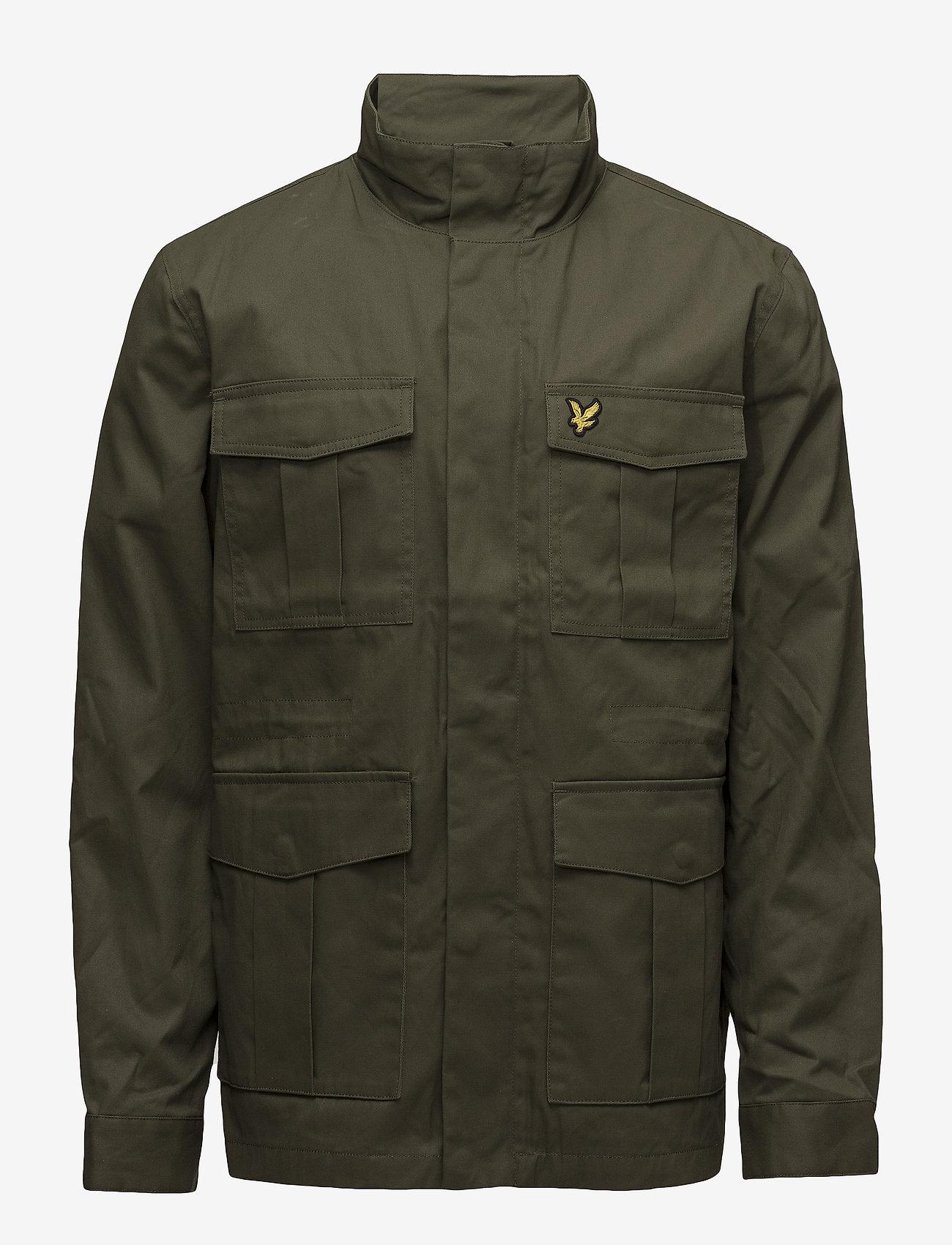 Lyle & Scott - Field Jacket - light jackets - olive
