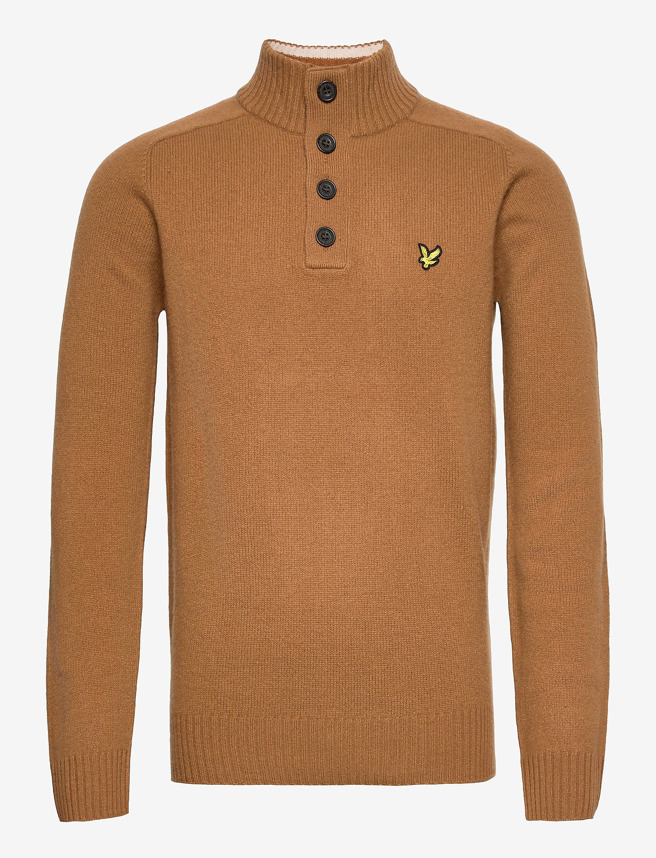 Lyle & Scott - Funnel Neck Knit Jumper - tricots basiques - w281 tawny brown - 0
