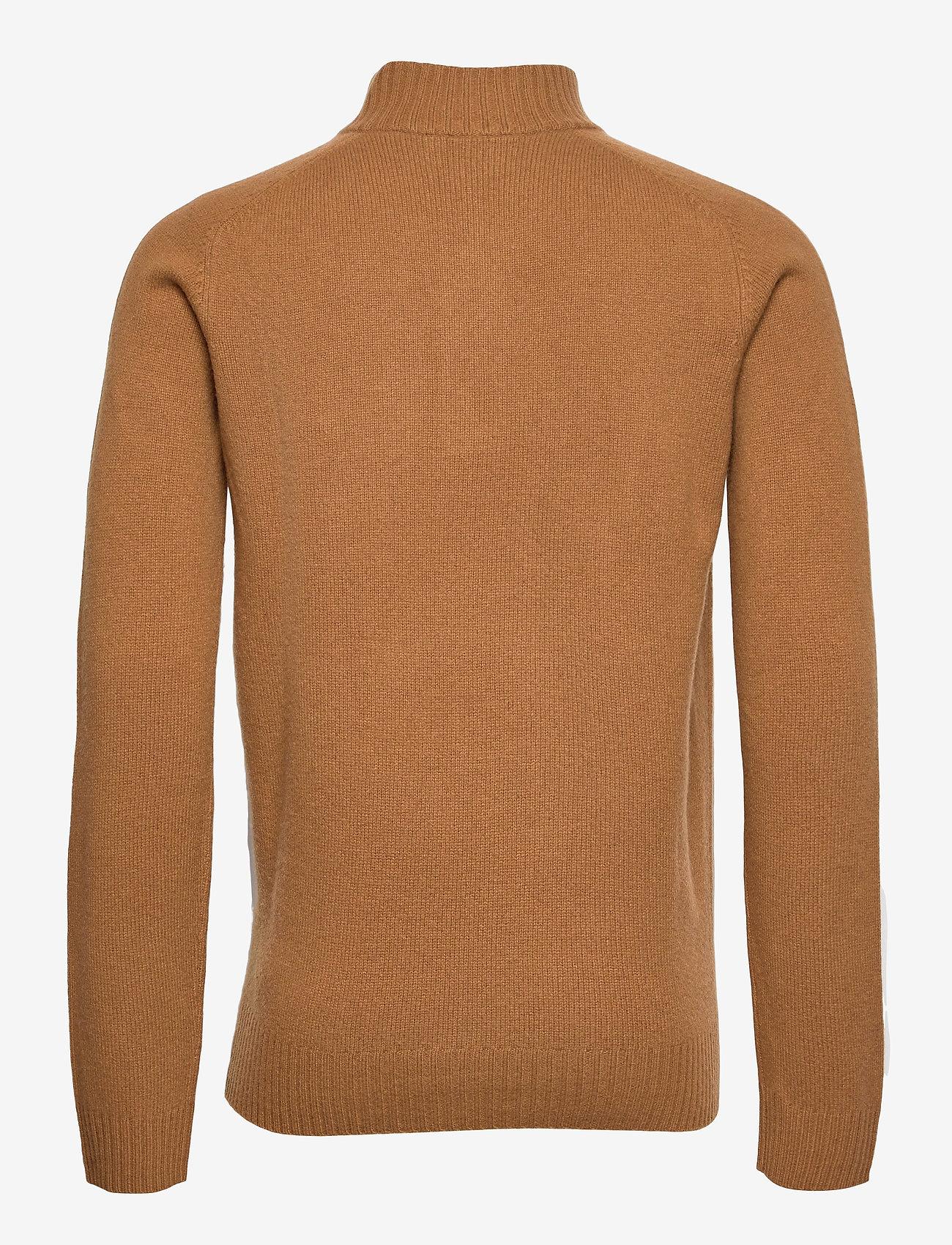 Lyle & Scott - Funnel Neck Knit Jumper - tricots basiques - w281 tawny brown - 1