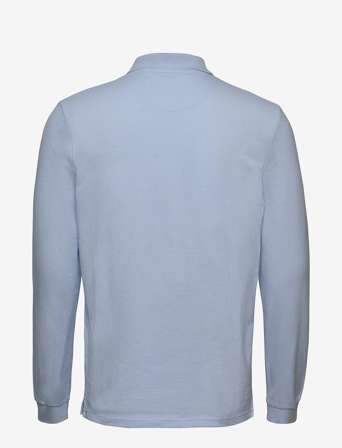 Lyle & Scott - LS Polo Shirt - polos à manches longues - pool blue - 1