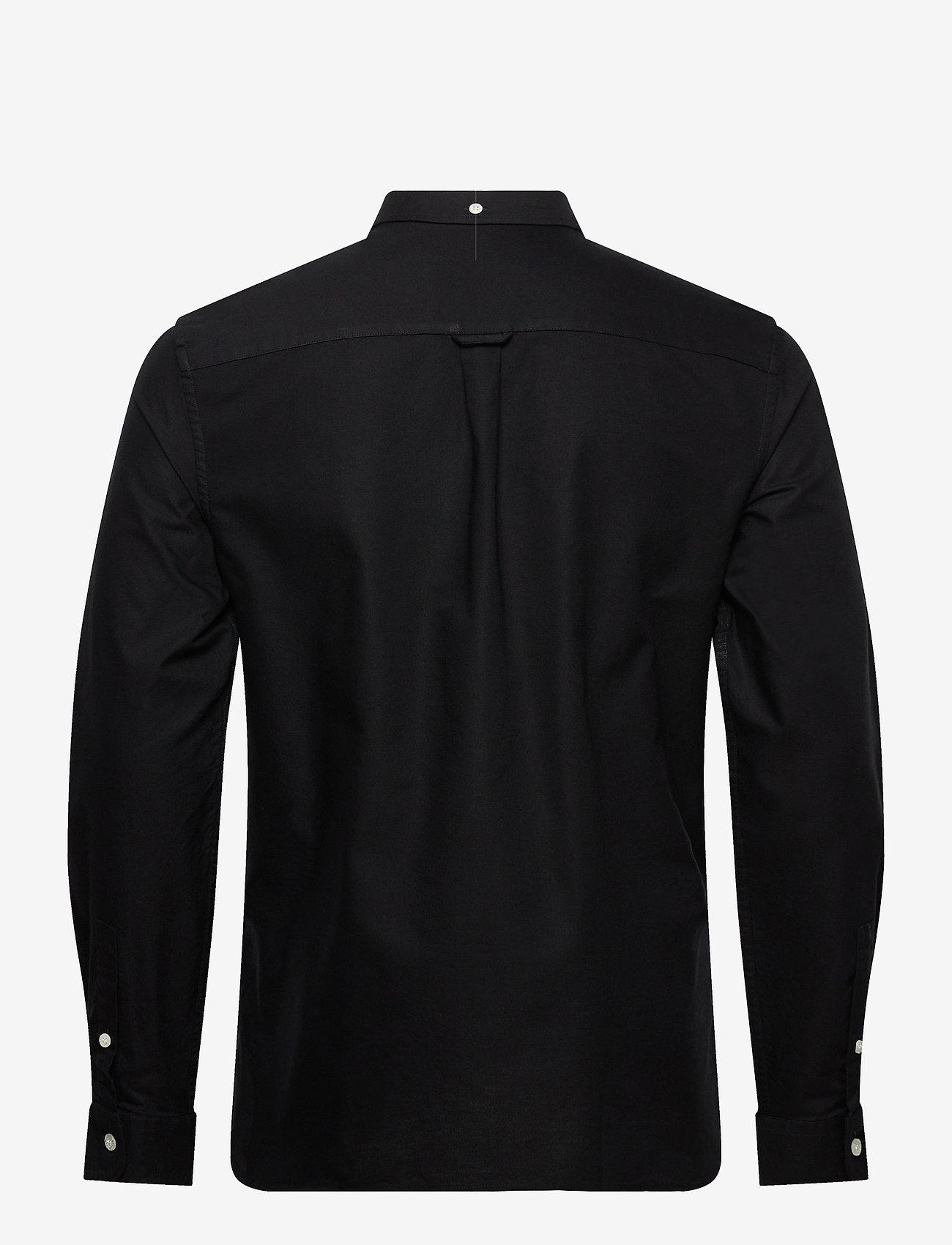 Lyle & Scott Regular Fit Light Weight Oxford Shirt - Skjorter JET BLACK - Menn Klær