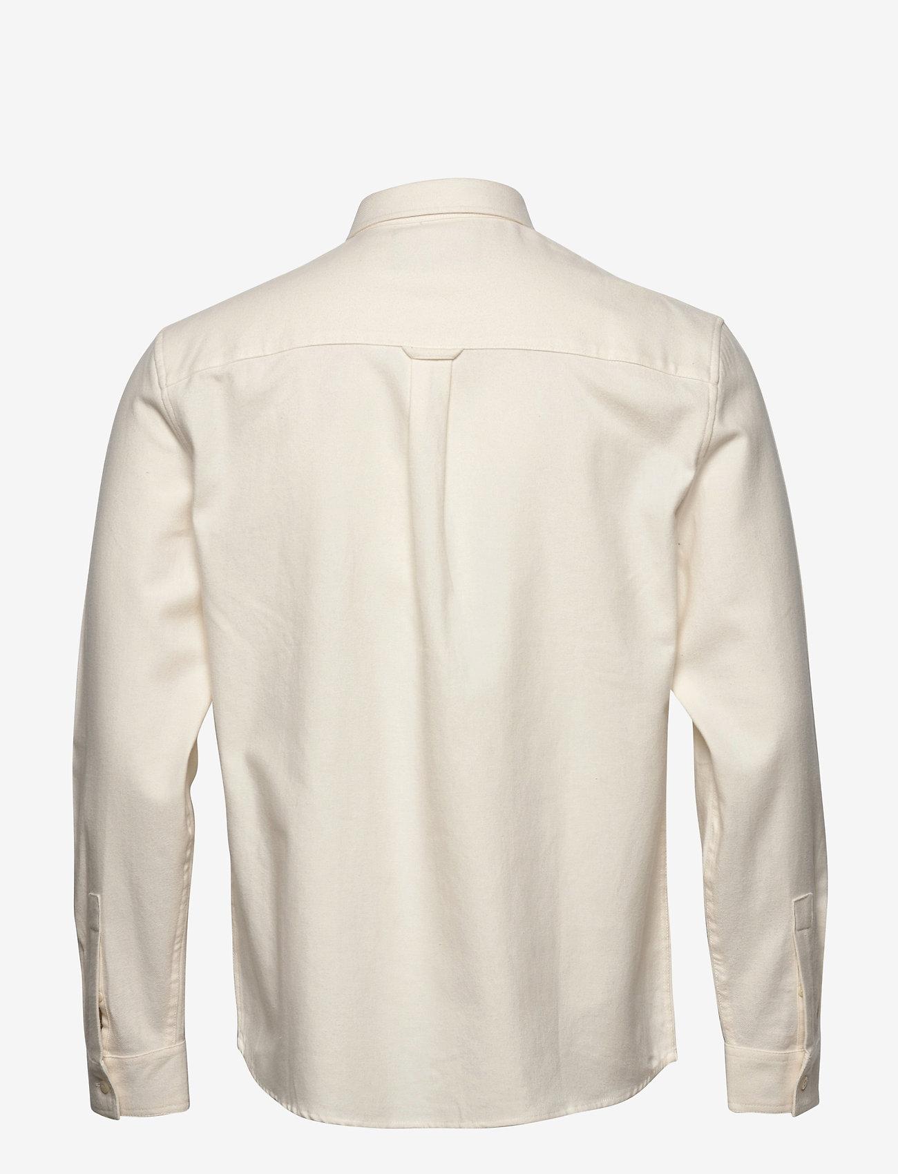 Lyle & Scott Brushed Twill Shirt - Skjorter VANILLA ICE - Menn Klær